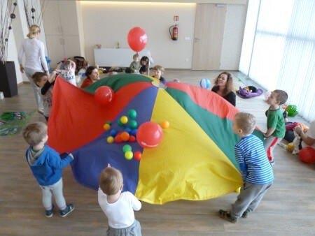 Program s dětmi - padák