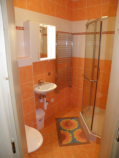 Koupelna penzionu
