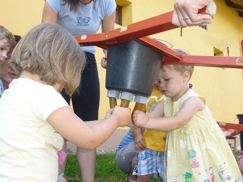 Program pro děti - mléko